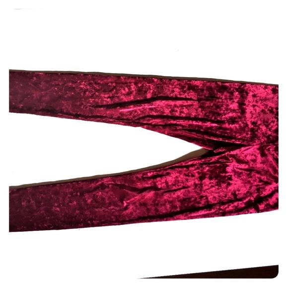 9225eb7bd6 Divided Pants - Crushed velvet leggings